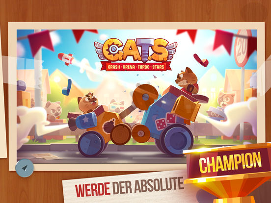 Screenshot 5 CATS: Crash Arena Turbo Stars