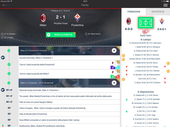 Serie A TIM Screenshot