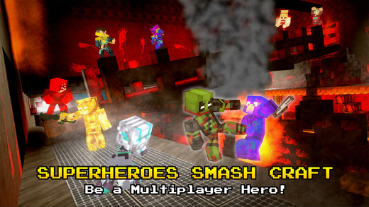 SuperHeroes Smash Craft Screenshots