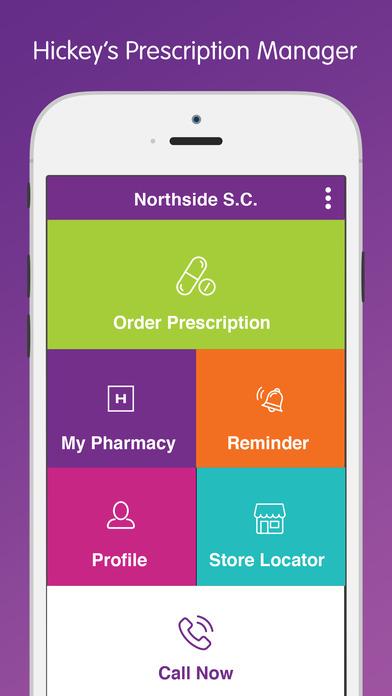 Hickey's Pharmacy Prescription Manager