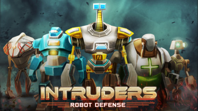 INTRUDERS: Robot Defense iOS Screenshots