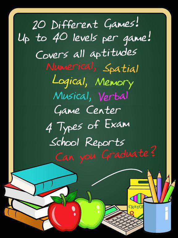 Brain School ™ Word, Puzzle & Logic Games Training Screenshots
