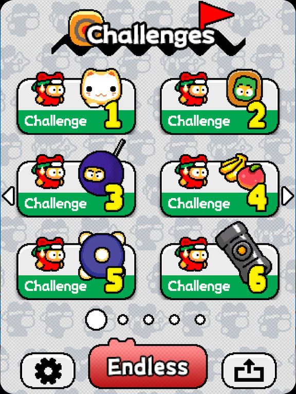 Ninja Spinki Challenges!! iOS