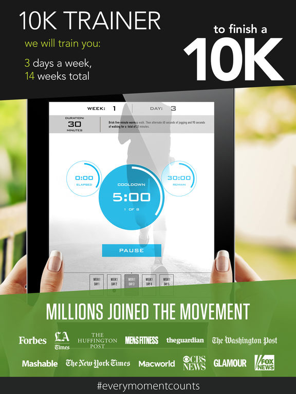 10k trainer pro couch to 10k training app insight download. Black Bedroom Furniture Sets. Home Design Ideas