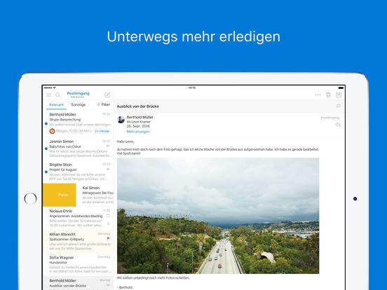 Microsoft Outlook – E-Mail und Kalender Screenshot