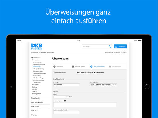 DKB-Banking Screenshot