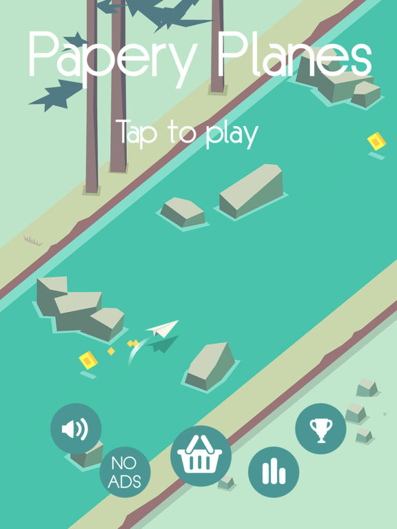 Papery Planes iOS Screenshots