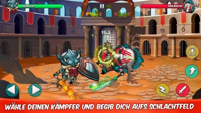 Tiny Gladiators iOS Screenshots