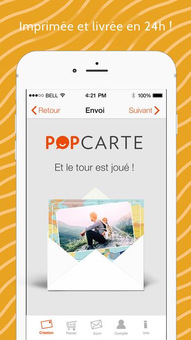 Concours de Noël 14 : Popcarte, la carte postale iPhone – 100€ de crédits à gagner !-capture-4