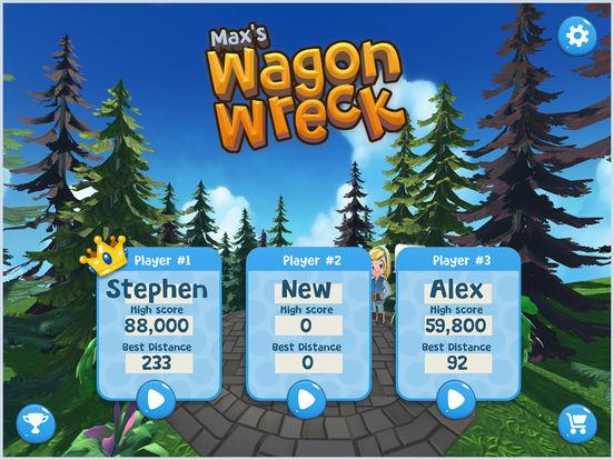 Wagon Wreck Screenshot