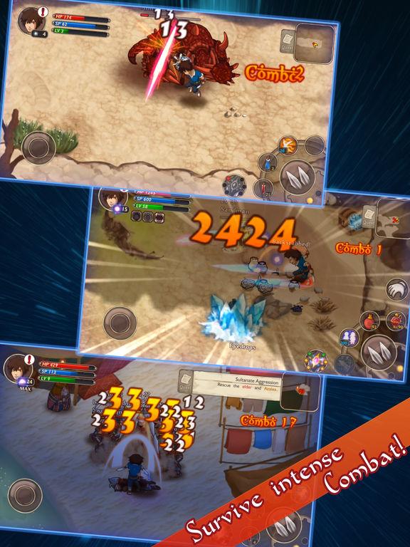 Screenshot 3 RPG Djinn Caster