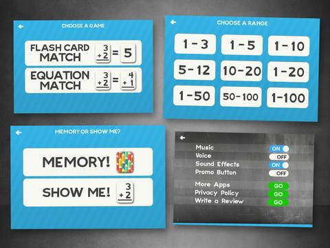 Zusatz Flash Cards Math Hilfe Quiz Lernen Spiele Screenshot