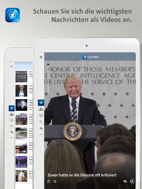 Tagesschau Screenshot