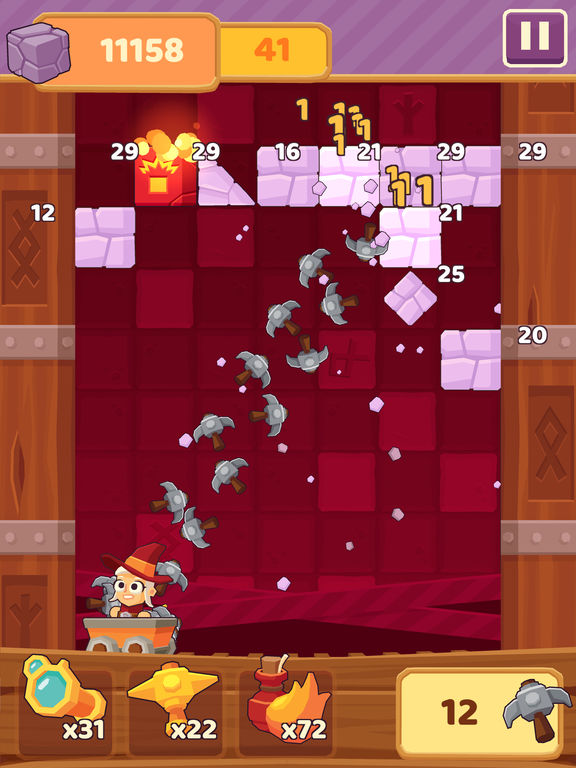 Screenshot 3 Charming Runes - Endless Arcade Block Breaker