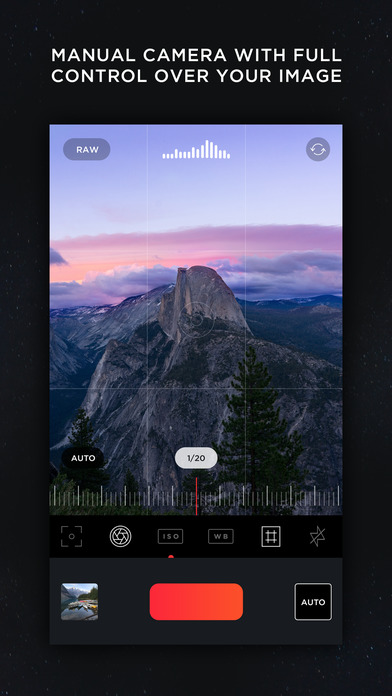 MuseCam - Edit Photos & Manual Camera Screenshot