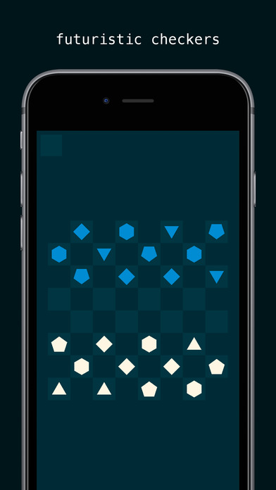 Glitchy Checkers iOS Screenshots