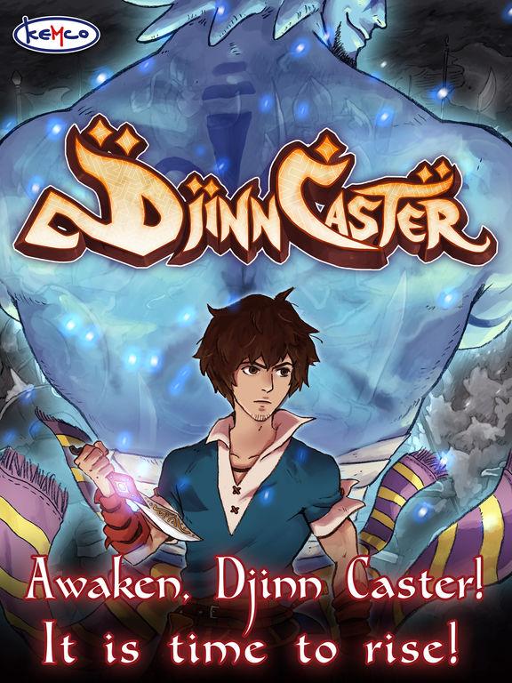Screenshot 1 RPG Djinn Caster