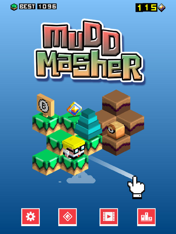 Mudd Masher iOS Screenshots