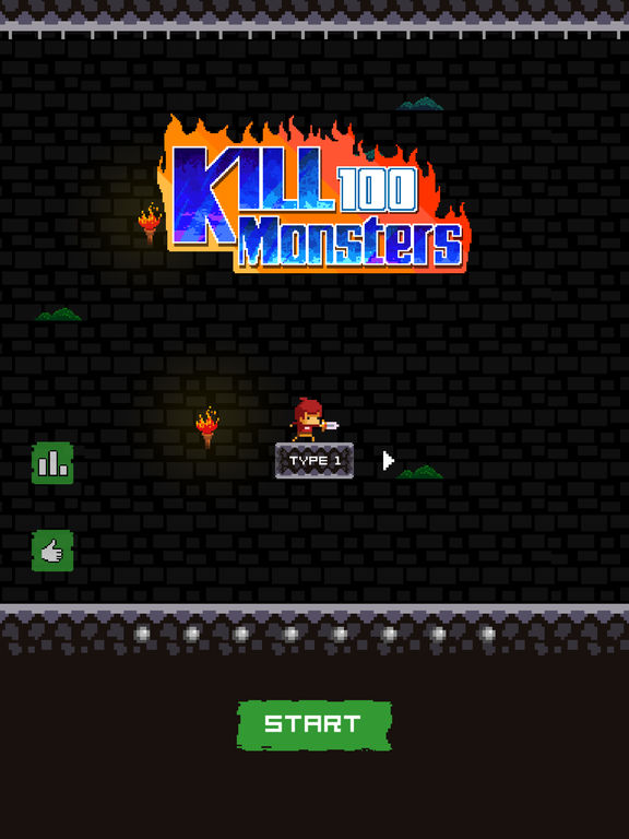 kill 100 monsters Screenshot