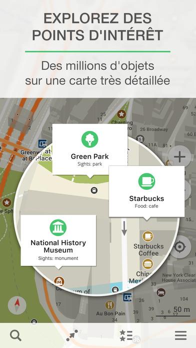 MAPS.ME – Cartes hors-ligne et itinéraire routier