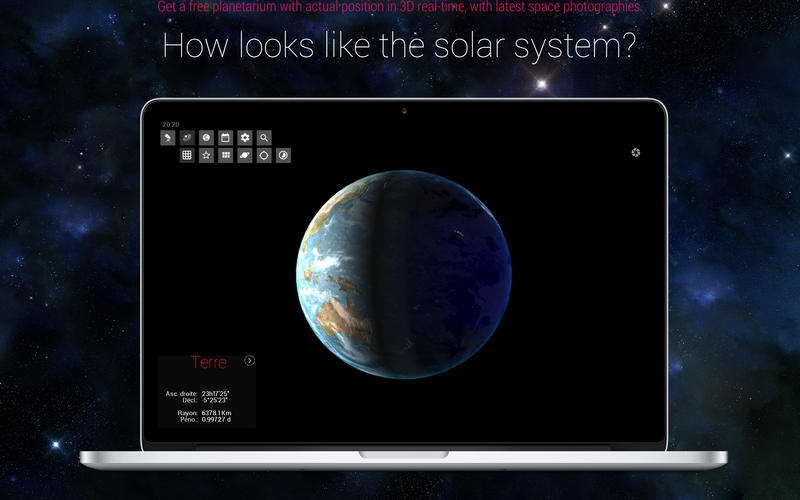 Screenshot SkyORB - Astronomy for Everyone in 3D