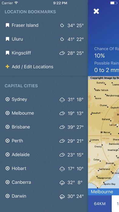 download AUS Rain Radar - Bom radar and weather forecast apps 2