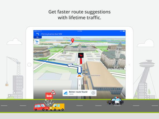 Sygic Europe: GPS Navigation, TomTom Offline Maps Screenshot