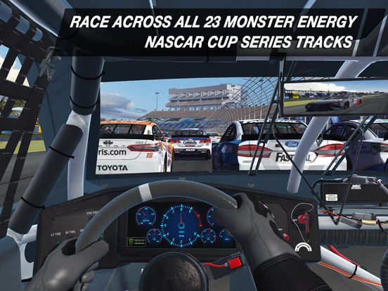 Screenshot 2 NASCAR Heat Mobile