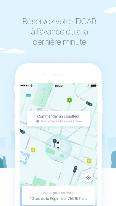 idpass sncf vtc taxi location voiture parking dans l app store. Black Bedroom Furniture Sets. Home Design Ideas