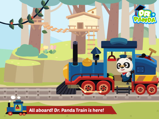 Dr. Panda Train Screenshots