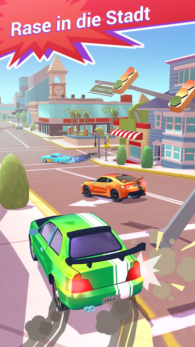 Crash Club iOS Screenshots