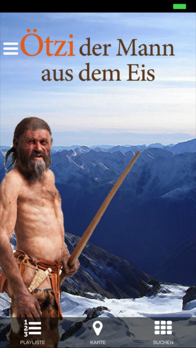 Multimedia Audioguide Ötzi Screenshot