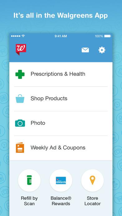 Walgreens e coupons