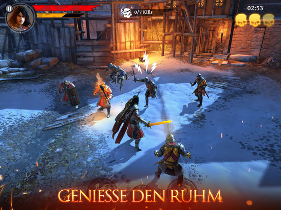 Screenshot 1 Iron Blade: Medieval Legends RPG