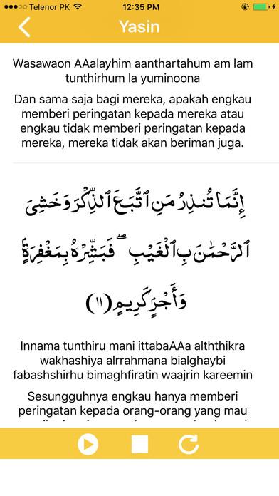 Bacaan Surah Yasin Dalam Rumi Full