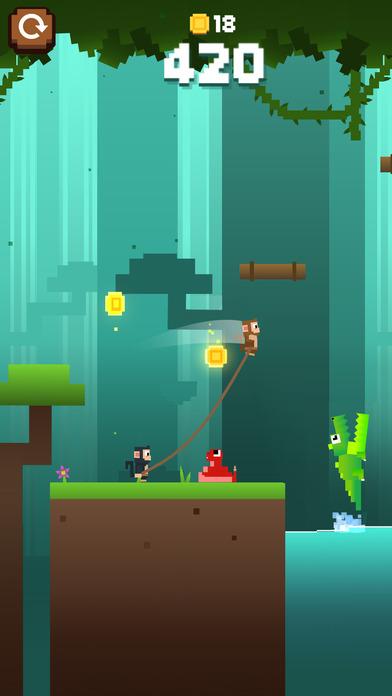 Monkey Ropes iOS Screenshots