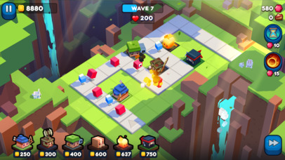 Defend The Bits iOS Screenshots