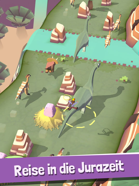 Rodeo Stampede: Sky Zoo Safari iOS Screenshots