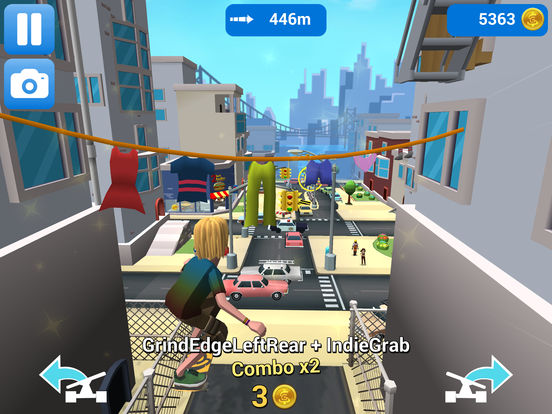Screenshot 3 Faily Skater