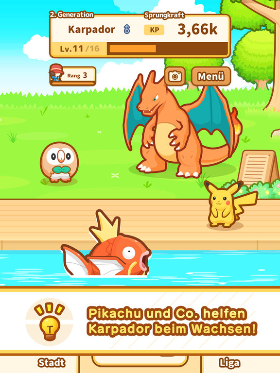 Screenshot 5 Pokémon: Karpador Jump
