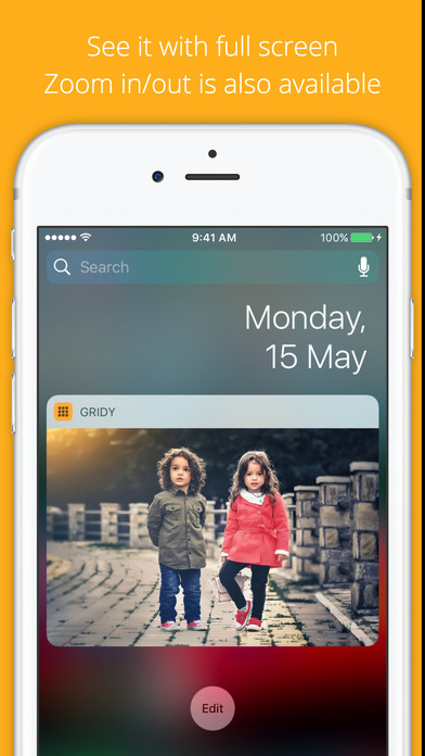 GRIDy - Photo Widget : GIF support Screenshot
