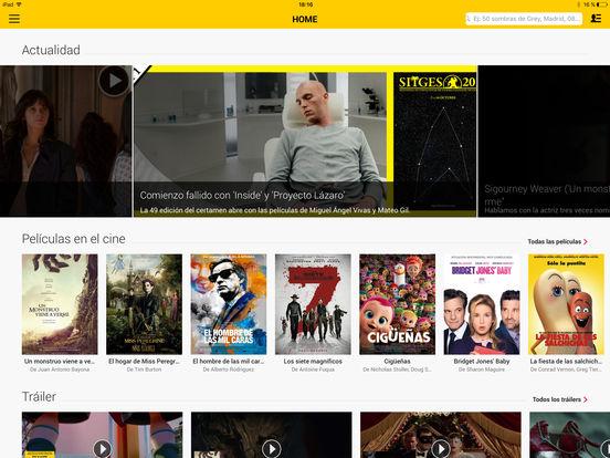 SensaCine - Cine y Series Screenshot