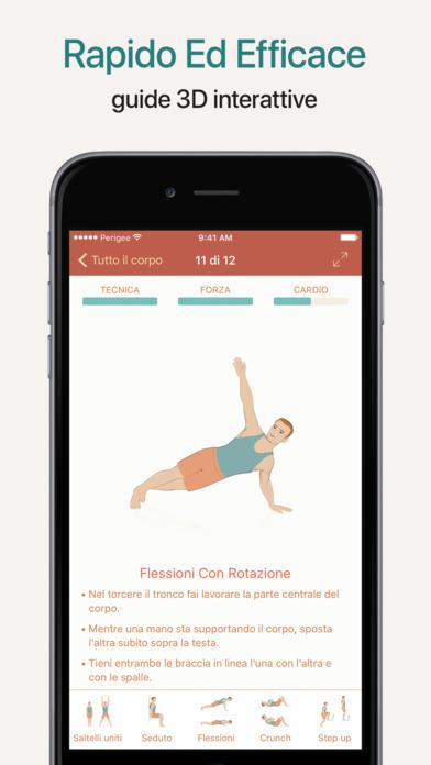 Seven - Sfida dell'allenamento di 7 minuti Screenshot