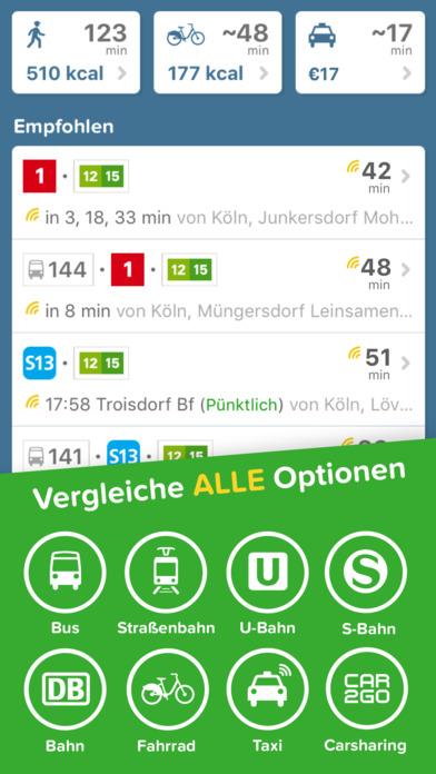 Citymapper - Routenplaner für BVG, HVV, KVB, VRR Screenshot