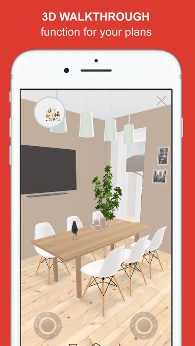 Roomle 3d room planner for home office designs on the 3d room design app