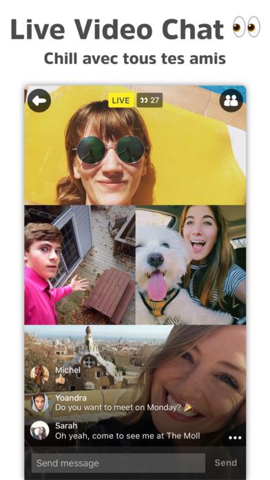 download Yellow - Rencontre des amis sur Snap et Insta apps 0