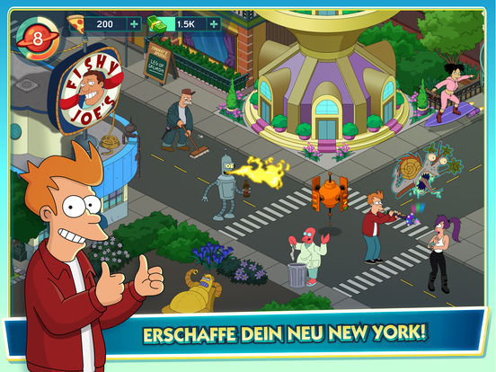 Screenshot 1 Futurama: Worlds of Tomorrow
