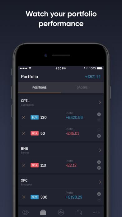 TradeRoom mobile trading App - YouTube