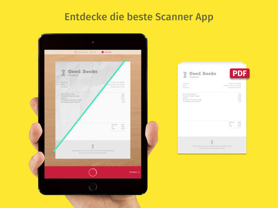 Scanner App & Fax - Scanbot Screenshot