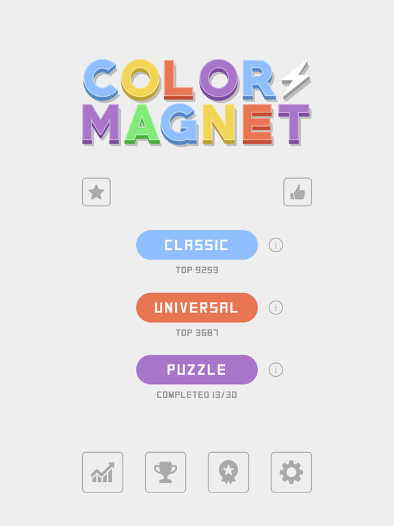 Color Magnet iOS Screenshots